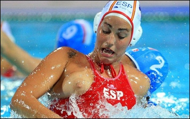 Women's Water Polo Nipple Slip Compilation, 100 Photos of Nipple Slipping And Loose Boobs www.GutterUncensored.com 059