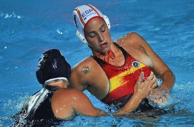 Women's Water Polo Nipple Slip Compilation, 100 Photos of Nipple Slipping And Loose Boobs www.GutterUncensored.com 006